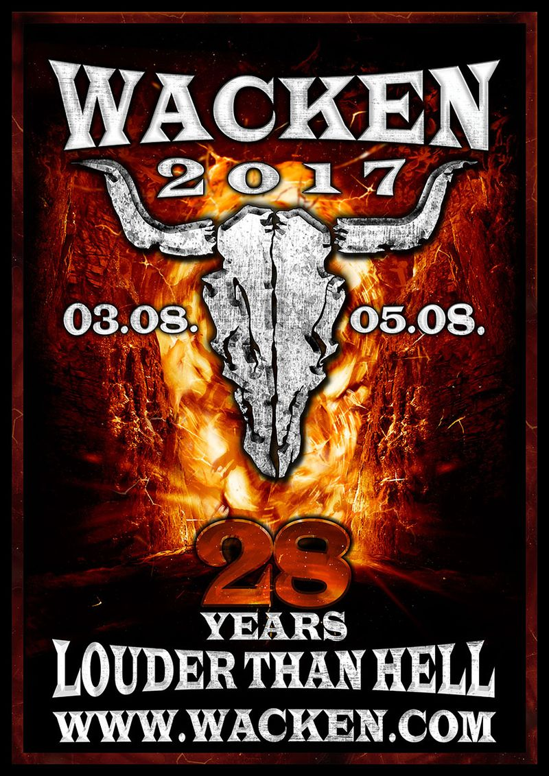 Wacken Open Air 2017 Flyer