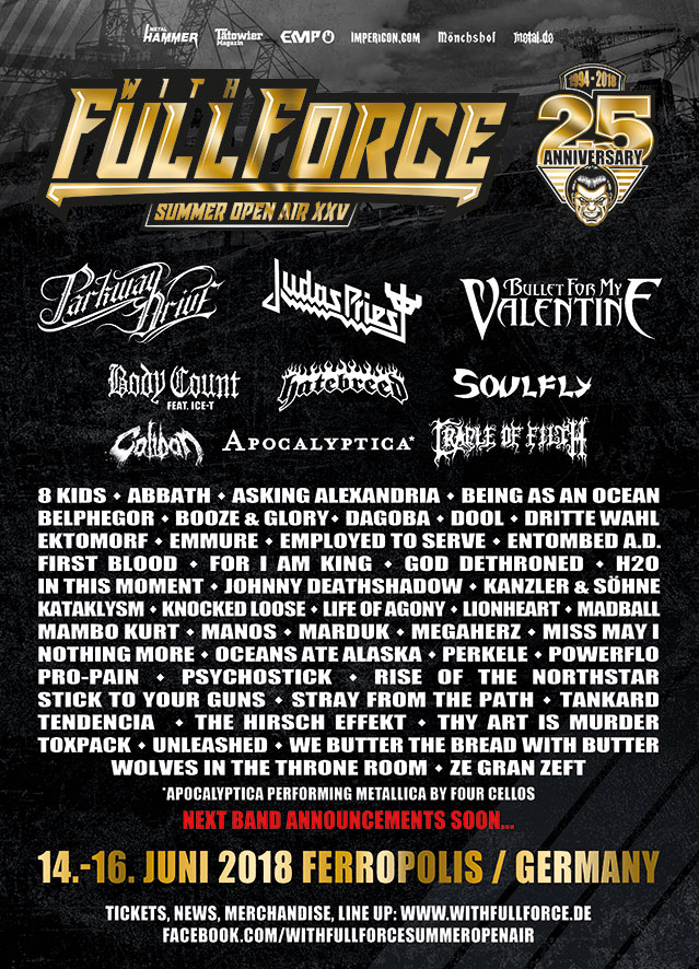 With Full Force Flyer WFF Plakate 2