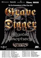 Grave Digger, Mystic Prophecy, Victorius – Black Hand Inn, Gadenstedt, 13.1.2017
