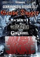 German Metal Attack Tour 2013