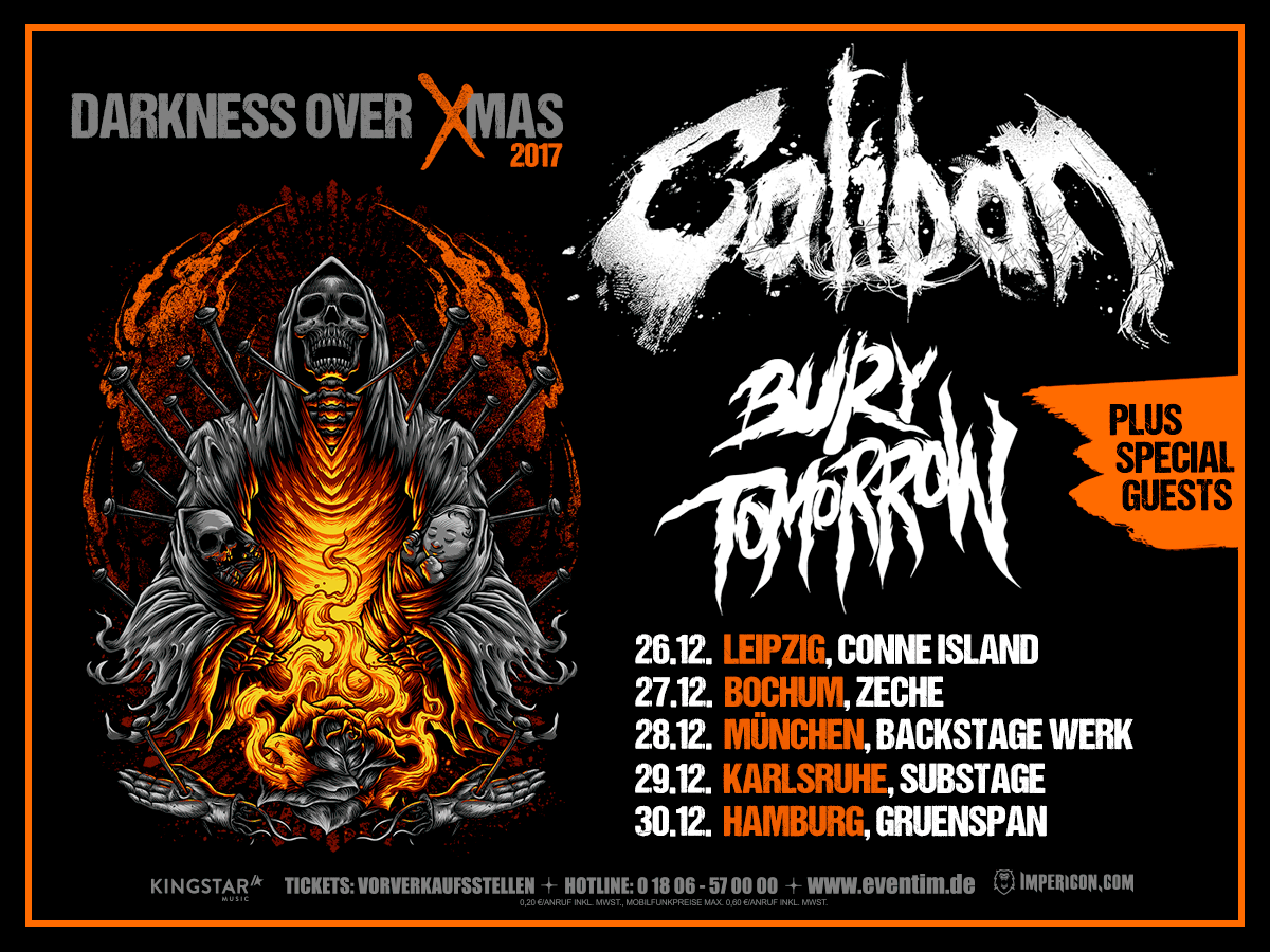 caliban und bury tomorrow tour 2017