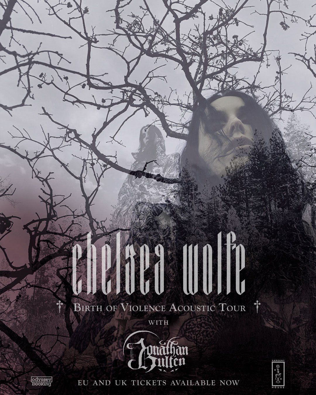 Chelsea Wolfe Acoustic EU UK Tour