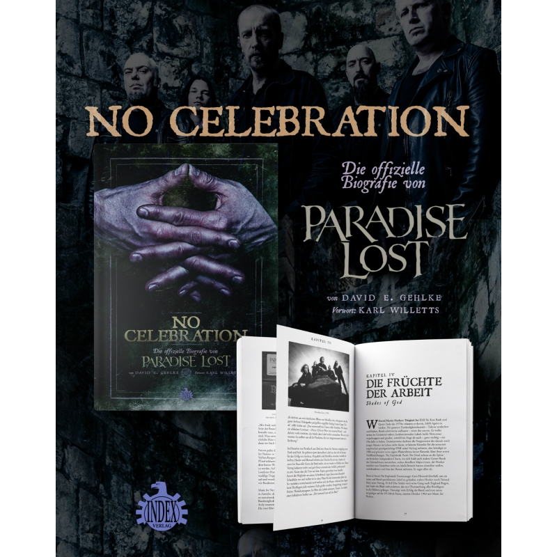 Paradise Lost No Celebration bio