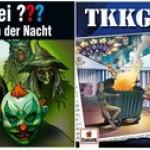 Die Drei Fragezeichen vs. TKKG – Kreaturen der Nacht (209) und Schutzgeld für Dämonen (218)