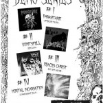 FDA Records Demo Series 1-4 PARASITARIO, VOMIT SPELL, FEACES CHRIST, MORTAL INCARNATION