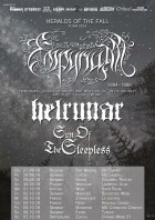 Empyrium, Helrunar & Sun Of The Sleepless - Heralds Of The Fall Tour 2018 - Hellraiser Leipzig